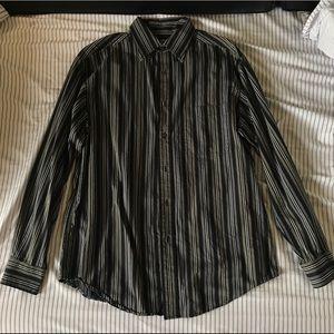 Vintage Stripped Button Down Shirt